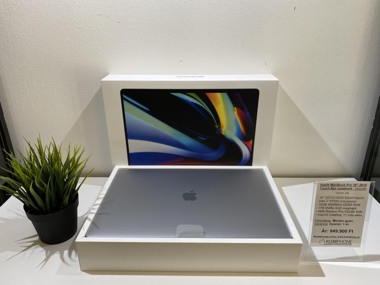Aktiválatlan Apple Macbook Pro 16