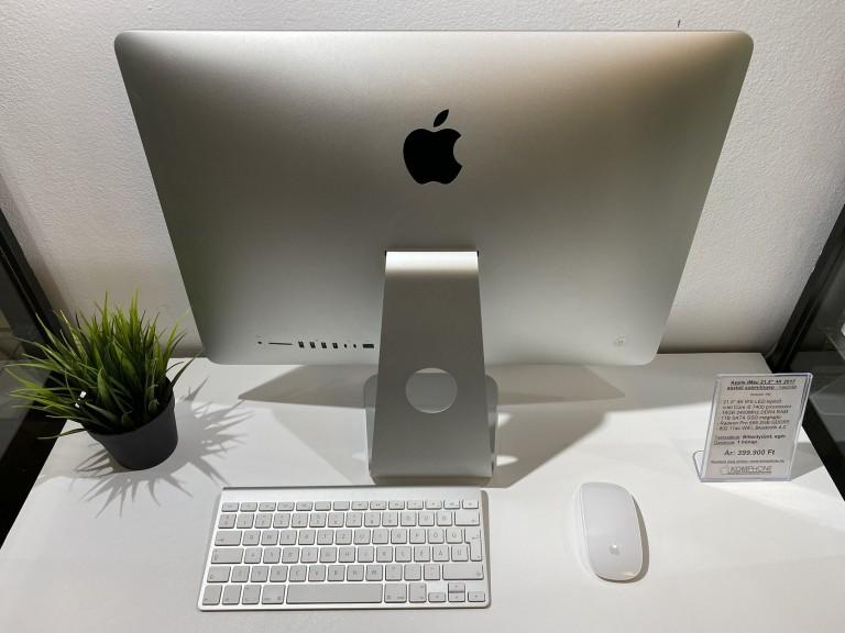 "Apple iMac 21,5"" 2017 4K - i5/16GB RAM/1TB SSD/Radeon Pro 555 2GB GDDR5 - használt"