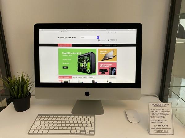 """Apple iMac 21,5"""" 2013 asztali számítógép - i5/16GB RAM/250GB SSD/Intel Iris Pro 1536MB - használt"""