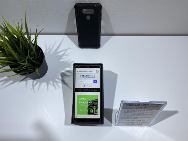 LG G6 Plus 128GB Dual SIM arany színű mobiltelefon, dobozzal, megkímélt állapotban - használt