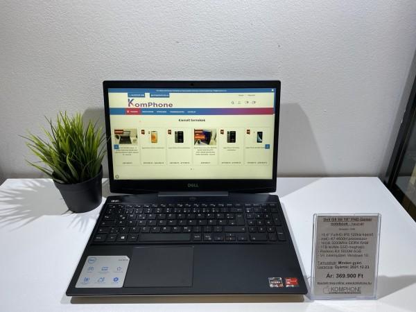 """Dell G5 SE 15"""" FHD Gamer 120Hz/R7 4800H/16GB/1TB SSD/RX 5600M 6GB/Win 10 mint az új - használt"""