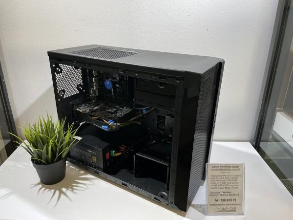 Épített Gamer! GIGABYTE H310M/i3 8100/8GB DDR4/GTX 1060 3GB/240GB SSD/Cooler Master N200/BQ! 430W - használt