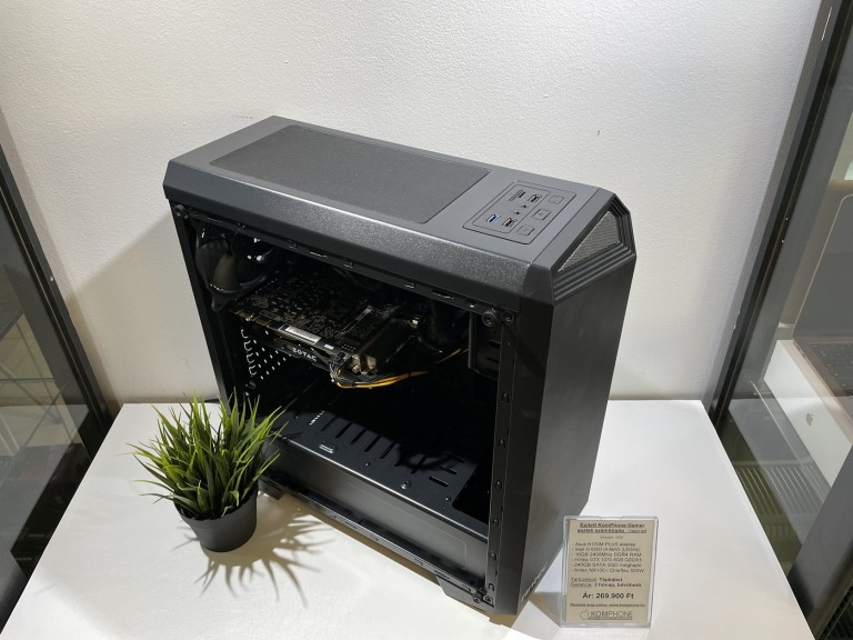 Épített Gamer! Asus H170M/i5 6500/16GB DDR4/GTX 1070 8GB/240GB SSD/Antec NX100/Chieftec 500W - használt