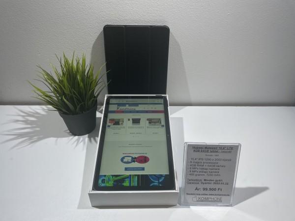 """Eladó Huawei Matepad 10,4"""" LTE 4GB 64GB tablet, újszerű, dobozos, pár napot használt, hibátlan - használt"""
