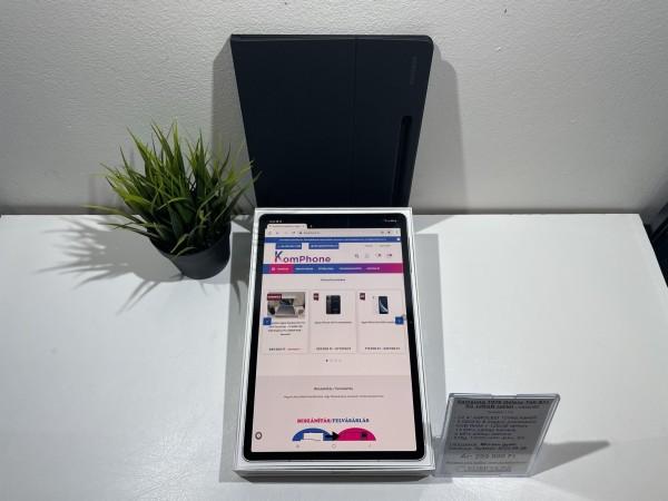 Újszerű Samsung T976 Galaxy Tab S7+ 5G 128GB tablet + gyári tok, minden tartozkékkal - használt