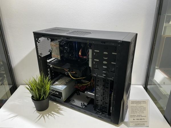 Épített Gamer! ASRock H87/i7 4770K/16GB DDR3/GTX 1060 3GB/120GB SSD/1TB HDD/CM Elite 431 Plus/500W - használt