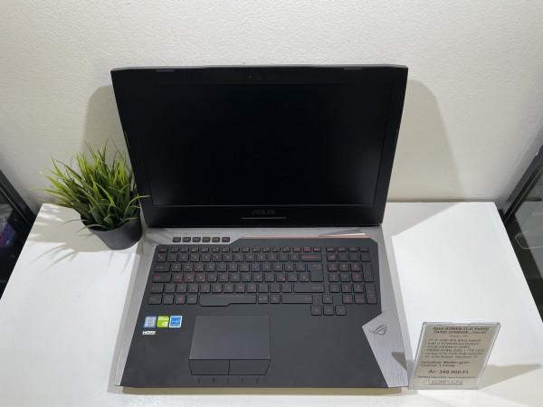 Asus ROG G752VS GAMER - FHD/i7 6700HQ/32GB RAM/256GB SSD/1TB HDD/GTX 1070 8GB/Win 10 - használt