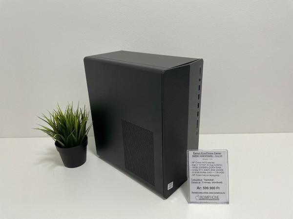 HP Pavilion Gaming Desktop TG01-1306ng - i7 10700F/16GB/512GB SSD/1TB HDD/RTX 3060Ti/Win 10 - használt