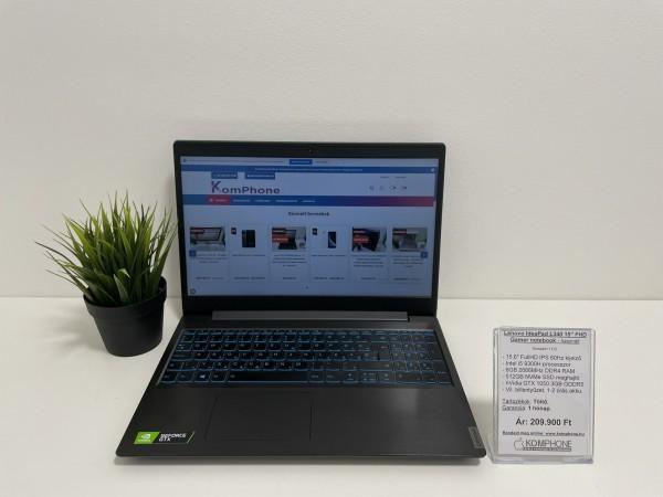 Lenovo IdeaPad L340 - FHD/i5 9300H/8GB 2666MHz DDR4 RAM/512GB NVMe SSD/GTX 1050 3GB - használt