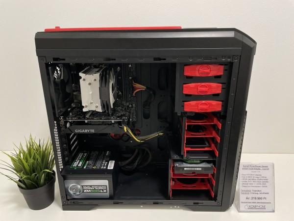 Épített GAMER! Asus H310M/i5 8600/16GB DDR4/240GB SSD/1,5TB HDD/GTX 1650 4GB/DeepCool Kendomen/500W - használt
