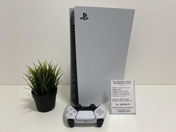 Sony PlayStation 5 825GB SSD fehér digital, megkímélt, garanciával, hibátlan állapotban - használt