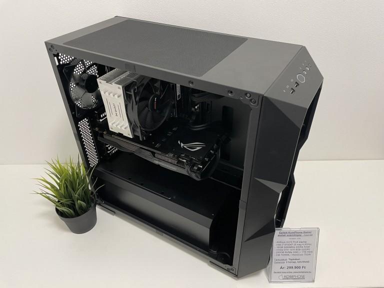 Épített Gamer! ASRock H370/i7 9700KF/16GB DDR4/250GB SSD/1TB HDD/GTX 1070/CM TD500L/750W - használt