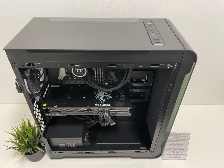 Épített vizes GAMER! MSI Z390/i9 9900K/32GB DDR4/1TB NVMe SSD/RX 6700XT/Thermaltake View 32/750W - használt