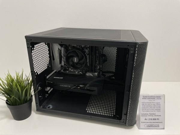 Épített GAMER! ASRock B450M/AMD R5 2600/16GB DDR4/500GB SSD/GTX 1650 4GB/Thermaltake Core V21/500W - használt