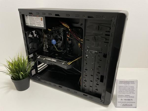 Épített Gamer! Gigabyte H410M/i3 10100F/16GB DDR4/480GB SSD/GTX 1050Ti/Cooler Master Force 500/500W - használt